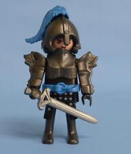 Playmobil Dark Blue Knight & weapon - Series 10 Male Figure 6840 NEW