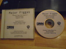 RARE PROMO Major Figgas CD Figgas 4 Life RAP hip hop DUTCH & SPADE Re-Up Gang !