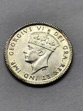 1941-C Newfoundland 5 Cents Silver Unc+ #9503