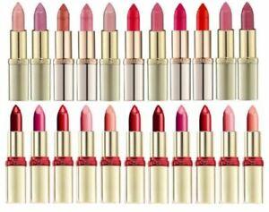 L'Oreal Color Riche Lipstick Pick A Shade Red Pink Nude Purple Matte Satin Shine