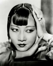 ANNA MAY WONG 8x10 PICTURE ACTRESS GREAT CLOSE-UP PHOTO