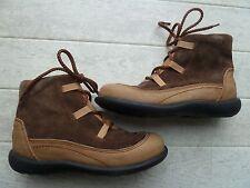 Birkenstock Footprints Leder Boots gefüttert 33 und 34 Austauschfußbett Schuhe