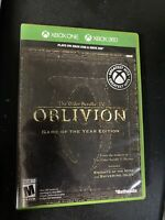 The Elder Scrolls IV: Oblivion Game of the Year  - Xbox 360 Game - Complete