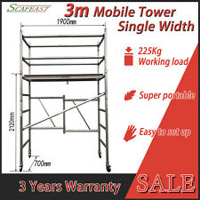 [Recommended] Foldable 3m Aluminium Mobile Scaffold Tower Australian Standard