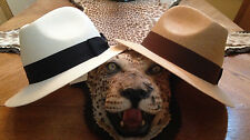 STETSON SALE ** LOT OF (2) L * NEW MENS FEDORA HATS * PANAMA STYLE SUN SHADY UPF