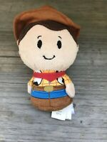 "Hallmark Itty Bitty Bittys ~ WOODY (Disney / PIXAR ~ Toy Story) 4"" Plush P13"