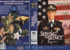 SERVING IN SILENCE Glenn Close-VHS -PAL -NEW -Never played! -Original Oz release