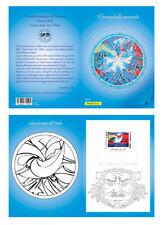 Italia 2018 : Colorbollo Blu ( Futurismo / Balla ) - Ufficiale Poste Italiane