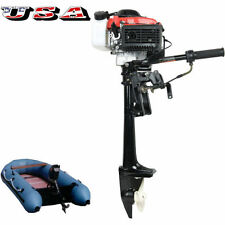 4 Stroke 4.0 HP 38cc OUTBOARD Motor Boat Engine Air Cooling System US