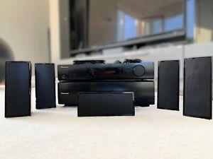 AV RECEIVER SET: VSX-S300-K + S-SLW500 |Slimline Subwoofer 5.1 HMDI 3D ARC