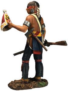 W Britain 16062 Clash Of Empires Native Warrior With Souvenir Grenadier Cap