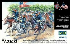 Masterbox 1:35 - US Civil War Series: The Attack of the 8th figures set MAS3550