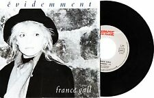 FRANCE GALL Evidemment 1988 French Single 45 chanson francia frances