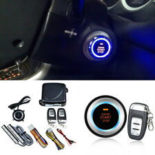 Car Alarm System Remote Starter Keyless Entry Engine Start Alarm System 8 Parts