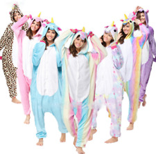 Pigiama kigurumi costume unicorn carnevale adulti cosplay animali tuta-party-New
