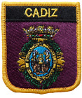 Cadiz Spain Shield Embroidered Patch