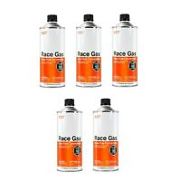 Race Gas 100032 32 oz. Cans of Offroad Race Fuel Concentrate Additive, Set of 5