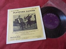 "THE COUNTRYSIDE PLAYERS Playford dances RARE 7"" EP FOLK"