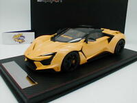 """FrontiArt SA003-68 - Fenyr Supersport W-Motors Bj. 2017 in """" pearl-yellow """" 1:18"""