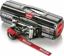 WARN 101145 AXON 45 Powersports Winch with Steel Cable Rope