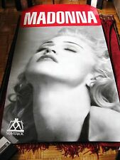 OOAK Madonna MONSTER SIZE Sex Book Erotica Album Music Store Promo Poster Banner