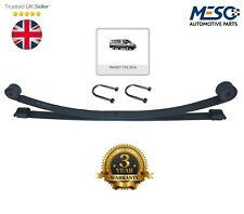 DOUBLE ( 2 ) LEAF SPRING & U BOLTS & NUTS FORD TRANSIT MK8 TTG 2014 ON RWD 76MM