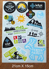 15  Aufkleber Sticker Kilpi Outdoor Ski Snowboard  (S256)