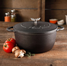 New listing Cookware Pioneer Woman Timeless Cast Iron 5-Qt Pre-Seasoned Dutch Oven with Lid
