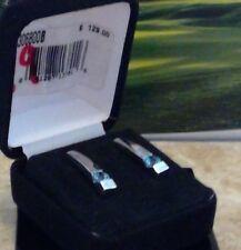 krementz  sterling silver w/ precious topaz  earrings cse306800 $129
