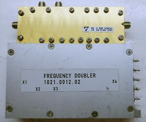 Frequency Doubler for R & S EMI Test Receiver