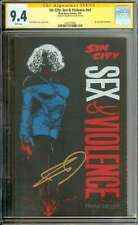SIN CITY: SEX & VIOLENCE #NN CGC 9.4 WHITE PAGES