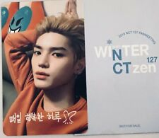 TAEYONG WINTER FANSIGN RARE/ LIMITED PHOTOCARD