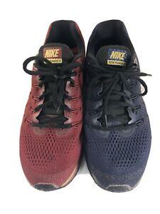 Nike Air Zoom Pegasus 34 Shield Men Running US 10.5 Blue/Red 880105-907