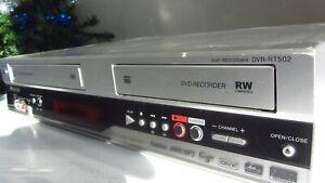Pioneer DVR-RT502 DVD-R VHS VCR Combo Player Recorder Dubbing WMA MP3