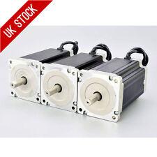 3PCS 13Nm Nema 34 Stepper Motor 5A 4-wires 14mm Shaft DIY CNC Mill Lathe Router