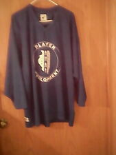 New listing Pear Sox brand blue jersey Hs/adult size Xl, 100% polyester, Ahai decal in front