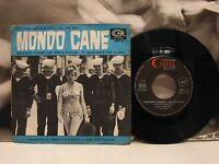 """NINO OLIVIERO / RIZ ORTOLANI - MONDO CANE - COLONNA SONORA 45 GIRI 7"""" OST"""