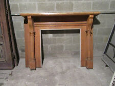 ~ Antique Carved Oak Fireplace Mantel ~ 65 x 47 ~ Architectural Salvage