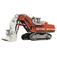 Bauplan Hydraulikbagger RH 120 C Modellbau