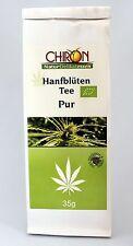 > NEU < BIO Hanfblüten Tee Pur 35 g - Vegan  ( 16,86 EUR / 100 g ) <