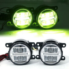 Car SUV Refitting LED Lens w/Driving Light Front Bumper Fog Lamp Spotlight White