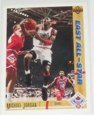 1991/92 Michael Jordan Chicago Bulls NBA Upper Deck East All-Star Card #69 NM