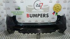 BMW X6 M SPORT 2015 F16 GENUINE REAR BUMPER 51128056534