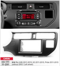 CARAV 11-291 Car Stereo Radio Fascia Plate Panel Frame Kit For Rio (UB),K3,Pride