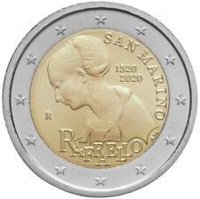 Sondermünzen San Marino: 2 Euro Münze 2020 Raffaello Raffael Sondermünze