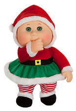 """Cabbage Patch Kids Cuties Doll: 9"""" Holiday Helpers Collection - Eve Claus"""