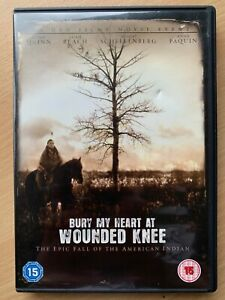 Bury My Heart and Wounded Knee DVD 2007 HBO Epic Fall of American Indian Drama