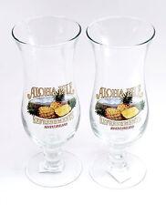 NEW Disney Parks WDW Adventureland Aloha Isle Dole Whip Glass Cups - SET OF 2