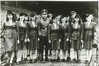 WW II German Photo <>     ..Female Concentration Camps Guards
