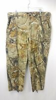 RedHead Camouflage Cropped Pants Sz XL Hunting Realtree Camo Cinch Bottoms 40x30